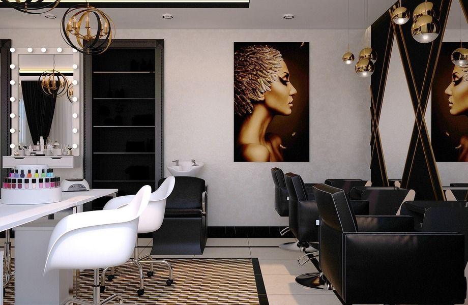 Салон красоты с хорошей локацией
