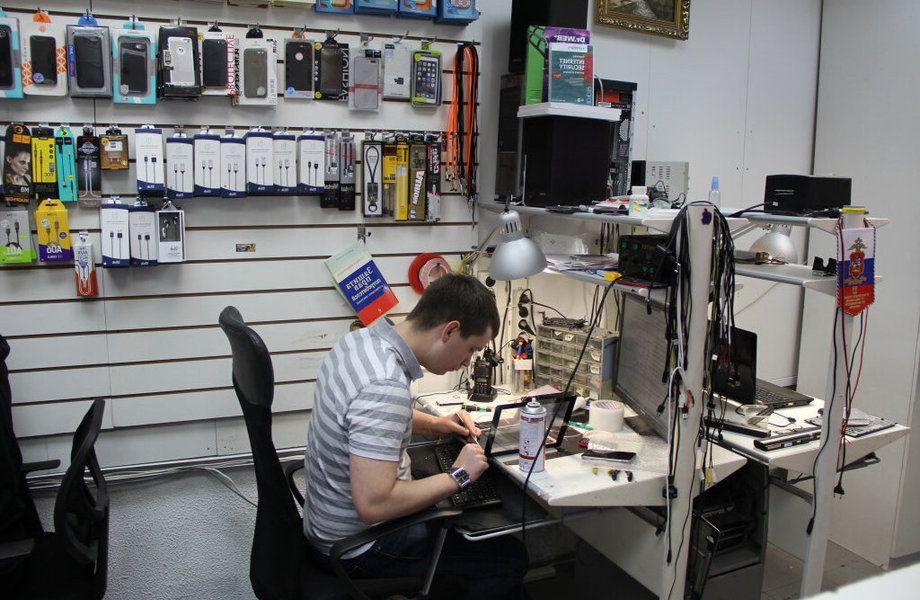 4 точки по по ремонту техники с подтвержденной прибылью