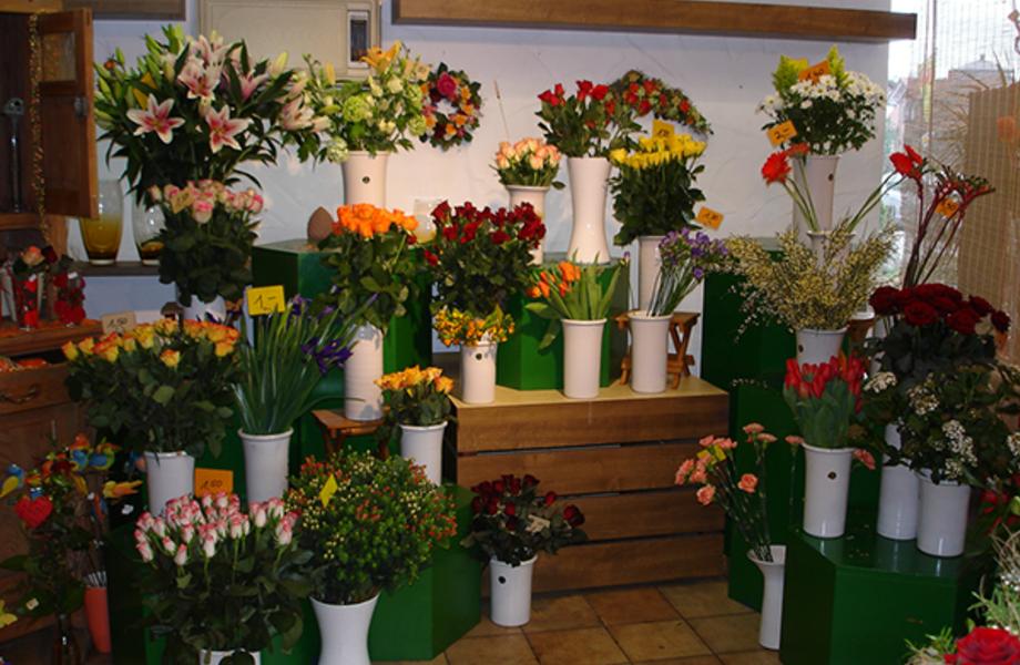Цветочный магазин в хорошем месте