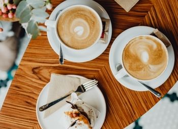 Кафе в спальном районе