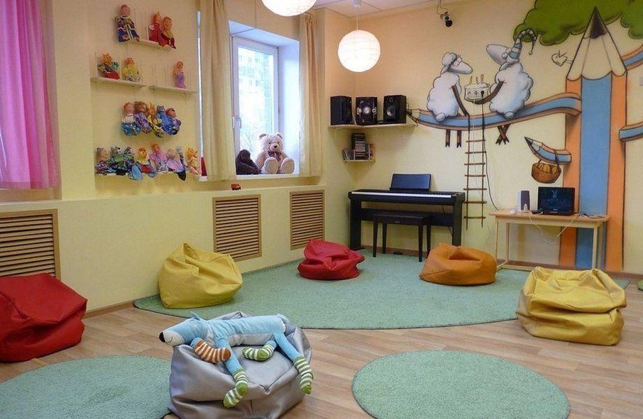 Детский сад с полной загрузкой
