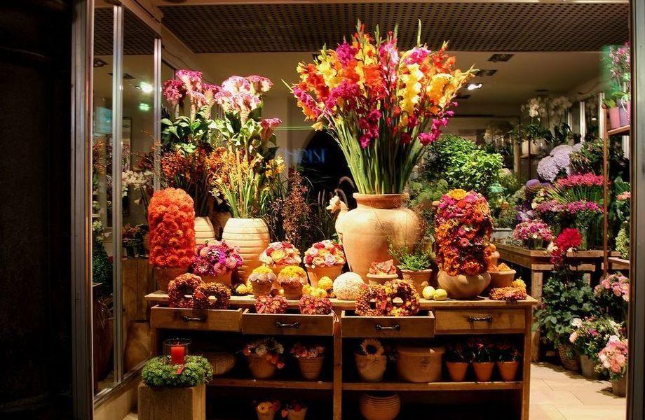 Уютный цветочный отдел на юге города