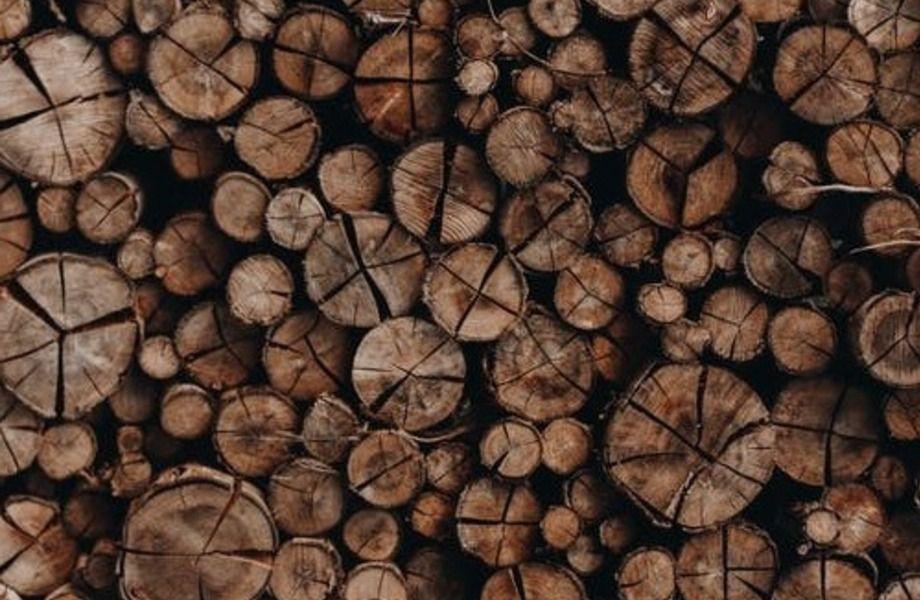Большое деревоперерабатывающее производство