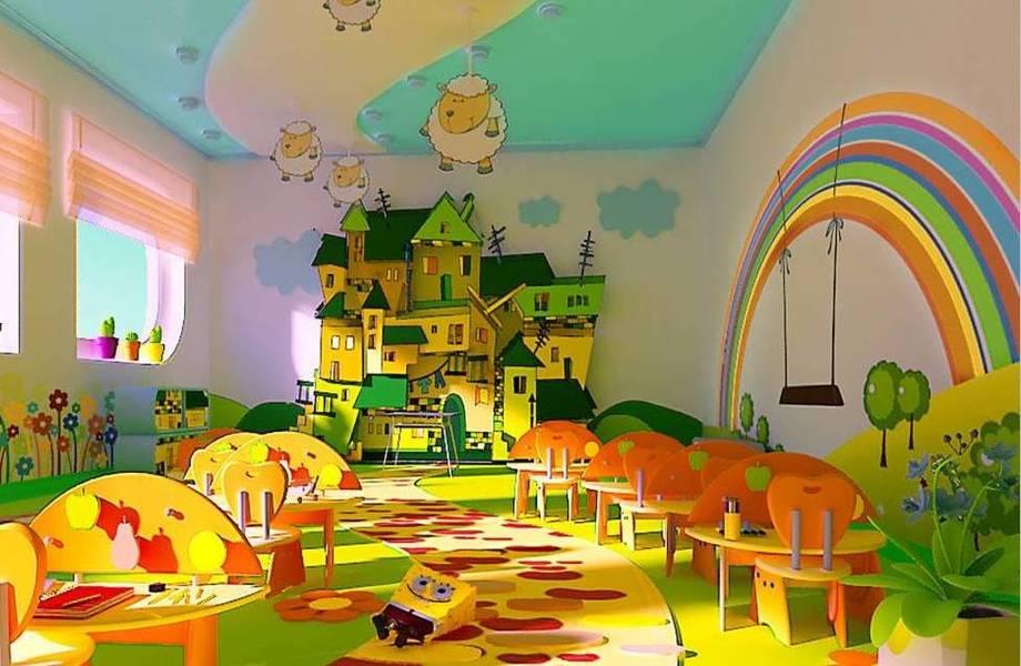 Детский сад в восточной части города