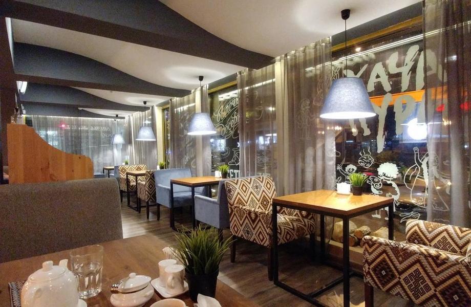 Перспективное кафе в центре города