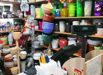 Крупный магазин садово-хозяйственных товаров