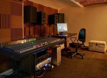 Студия звукозаписи в центре