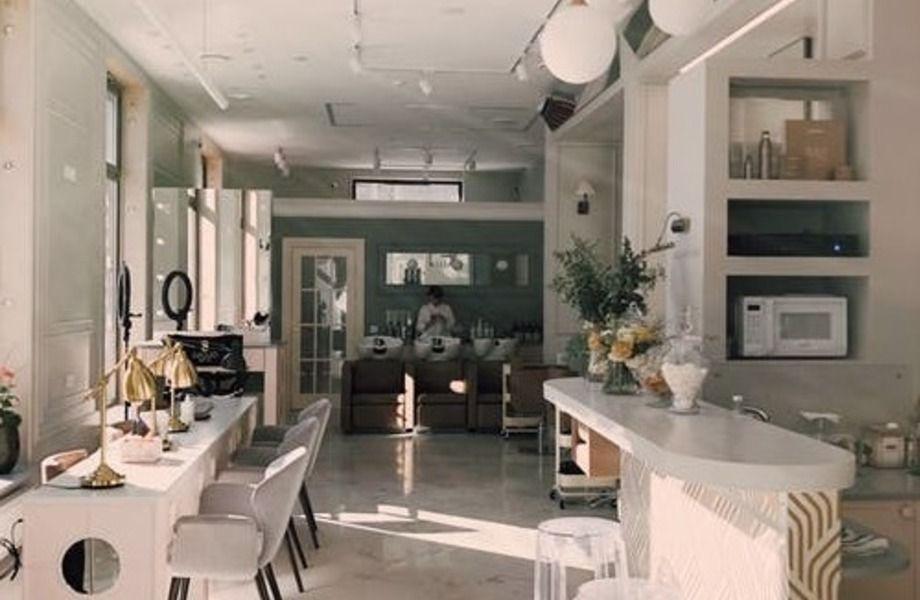 Салон красоты в центре Москвы с дизайнерским ремонтом