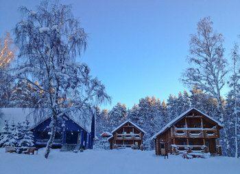 Турбаза в Ленинградской области на берегу озера