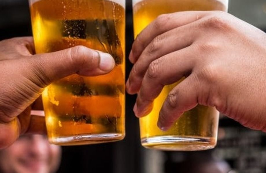 Магазин разливного пива на 35 двойных кранов