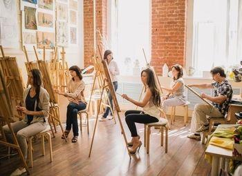Студия живописи с базой клиентов