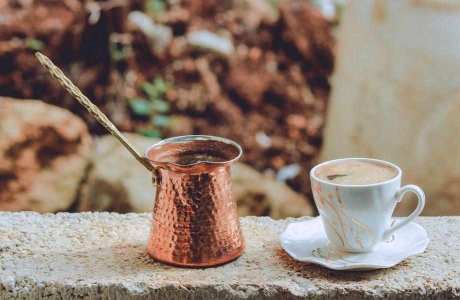 Кофе точка на крупном рынке