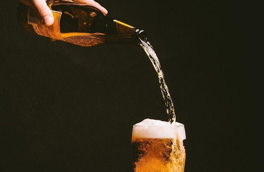 Магазин разливного пива на территории рынка