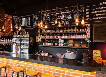 Крафтовый бар на севере города