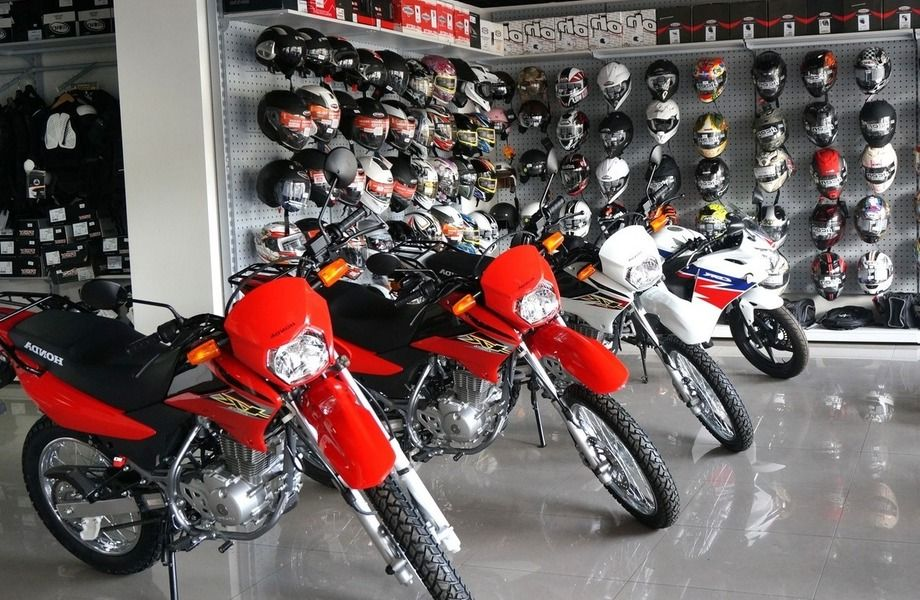 Магазин мотоциклов и мотосервис