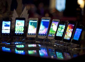 Магазин мобильных телефонов у метро