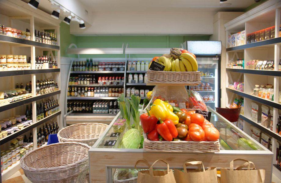 Сеть магазинов натуральных продуктов у метро