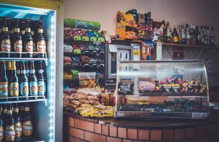 Прибыльный продуктовый магазин в центре города