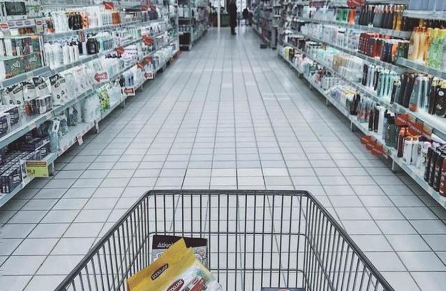Магазин продуктов на севере