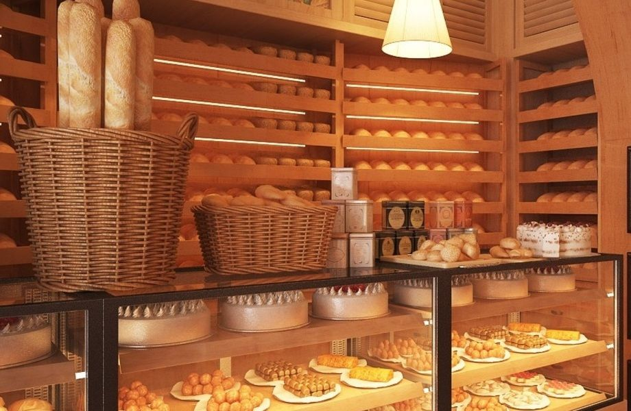 Мини-кафе пекарня