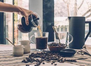 """Сеть брендированных кофеен. Формат """"кофе с собой""""."""