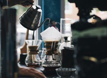 Кофейный островок в ТЦ
