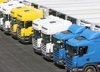 Автостоянка грузового и легкового транспорта