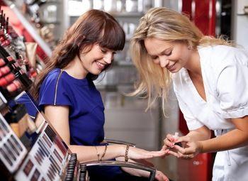 Магазин белорусской косметики в популярном ТЦ