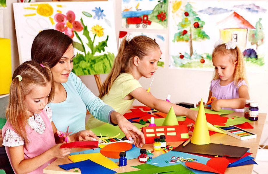 Детский центр в спальном районе/опытные сотрудники