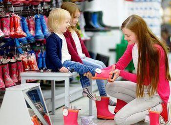 Магазин шоурум детской одежды/товарный остаток