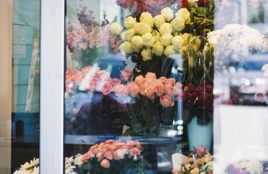 Магазин цветов с давней историей