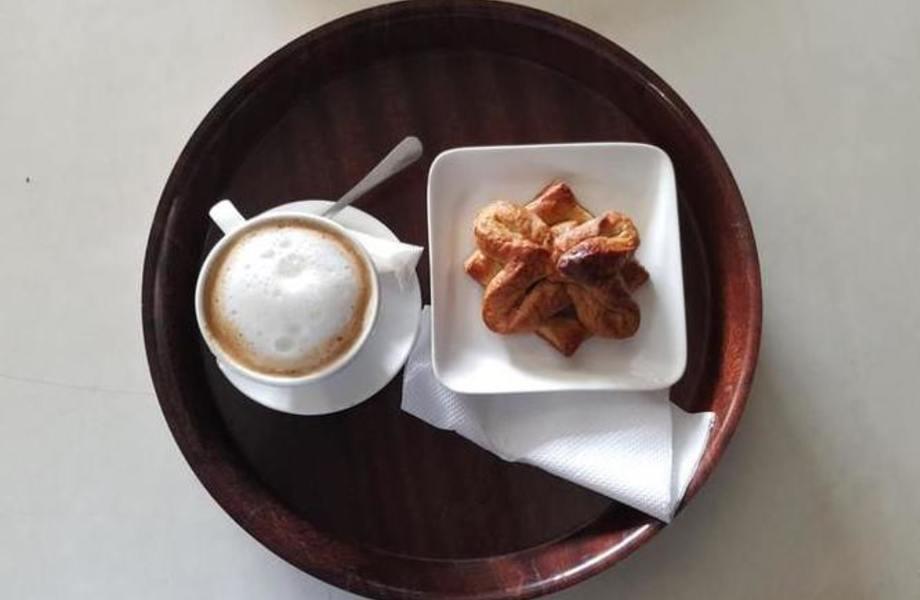 Кофейня в густонаселенном районе