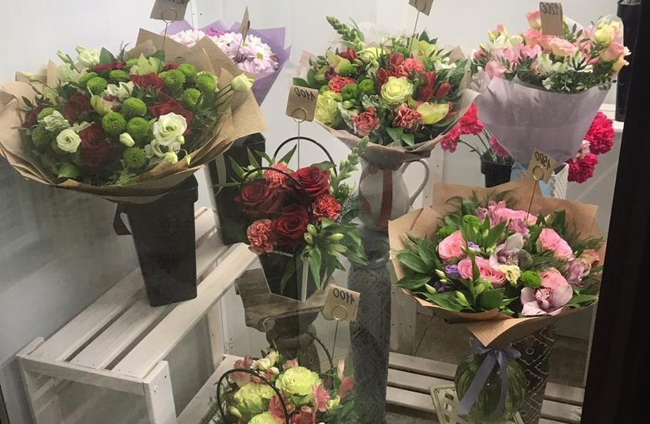 Развитый цветочный магазин