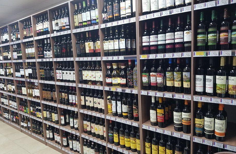 Алкогольный маркет с лицензией