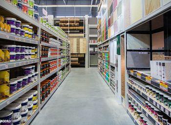 Магазин стройматериалов с товарным остатком