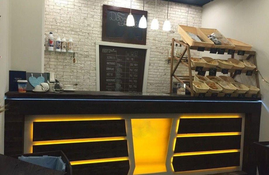 Пекарня-кофейня в проходном месте