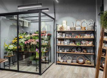 Цветочный магазин в ТРК на Культуре