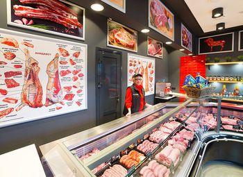 Мясной магазин с проходимостью