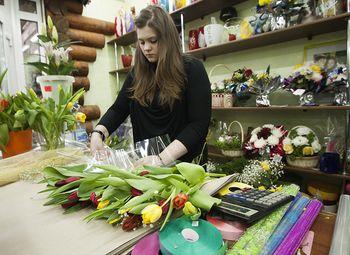 Салон цветов с высокой проходимостью