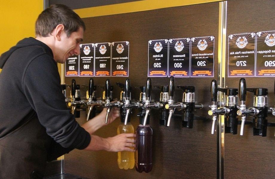 Магазин пива на юге города с низкой арендной стоимостью