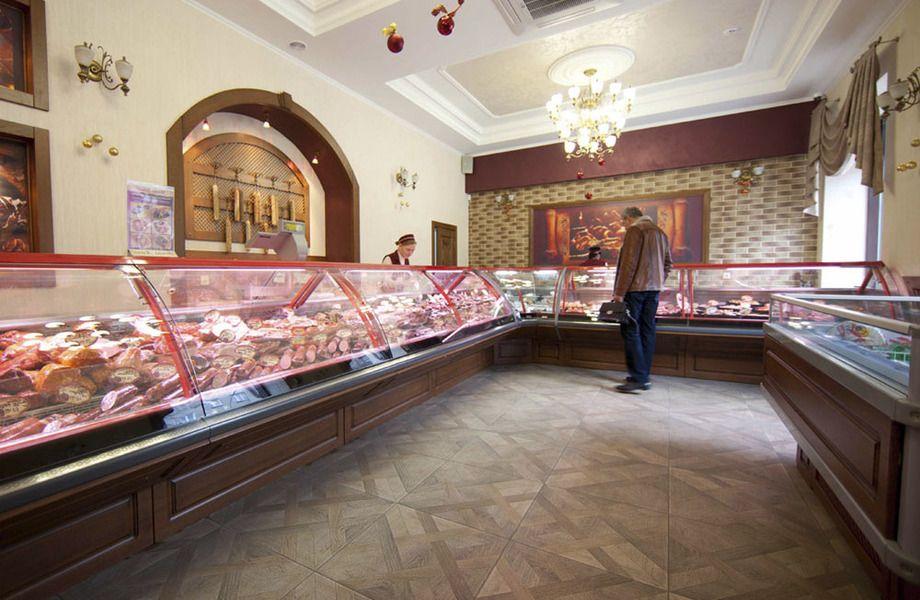 Прибыльный мясной магазин в крупном спальном районе
