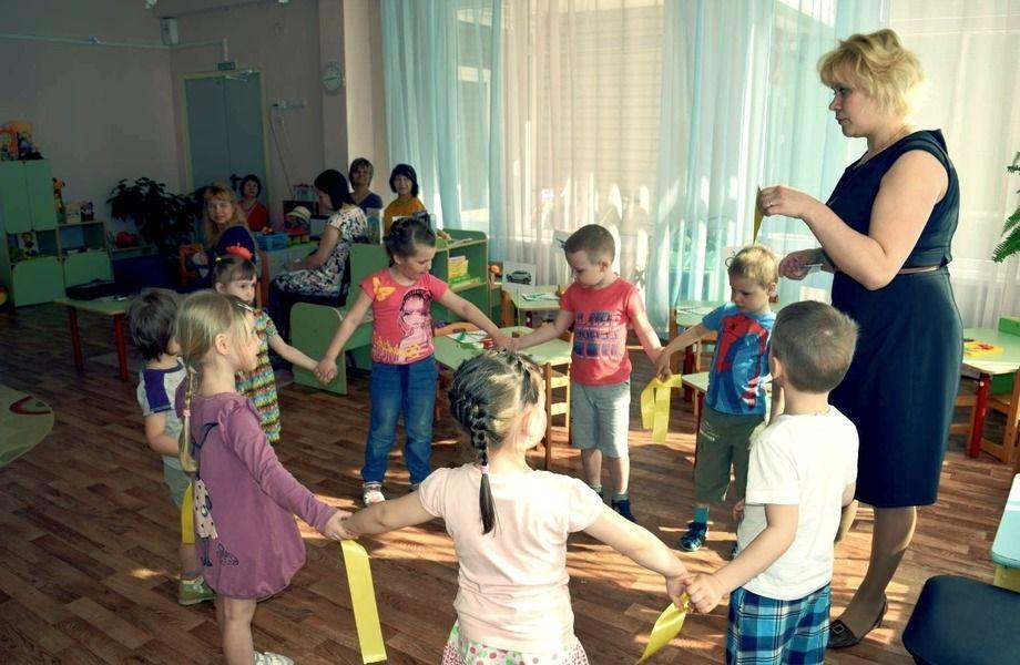 Детский сад в выборгском районе.