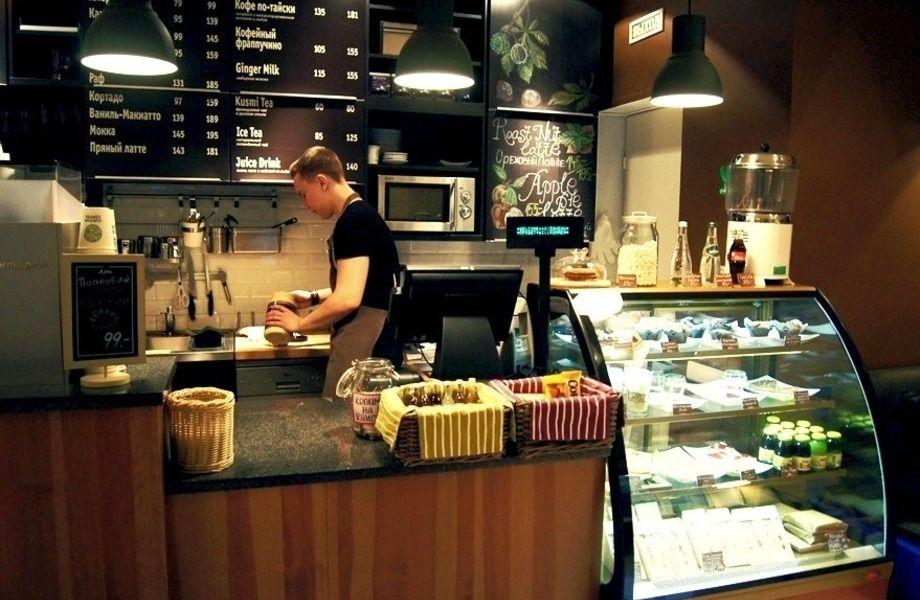 Кофе с собой в крупном гипермаркете (3 года)