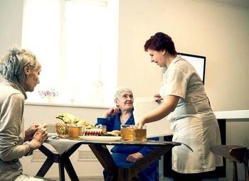 Пансионат для пожилых с сайтом