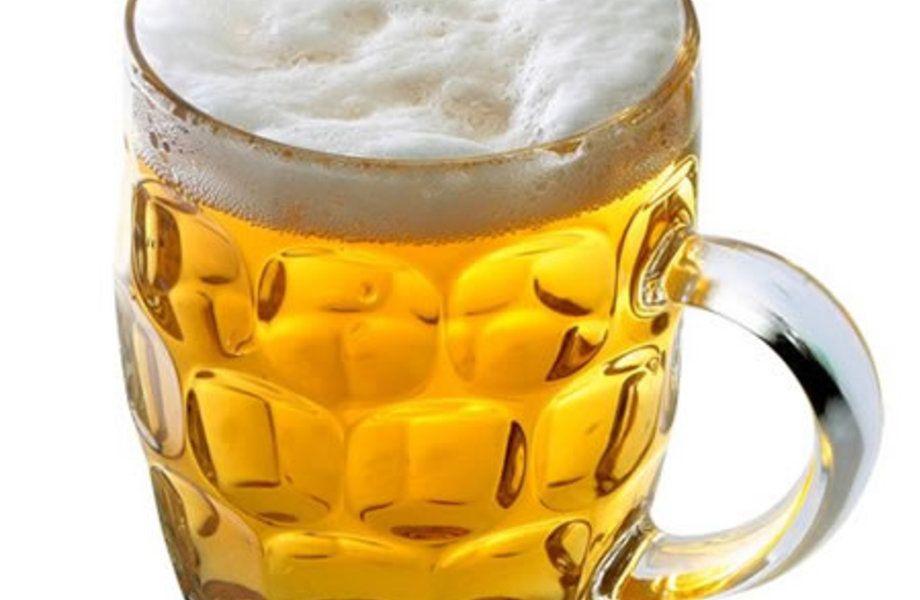 Разливное пиво (удачное месторасположение)