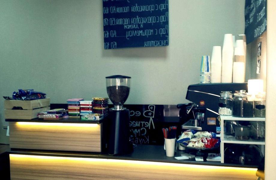 Кофе с собой в БЦ на Нарвской без конкурентов