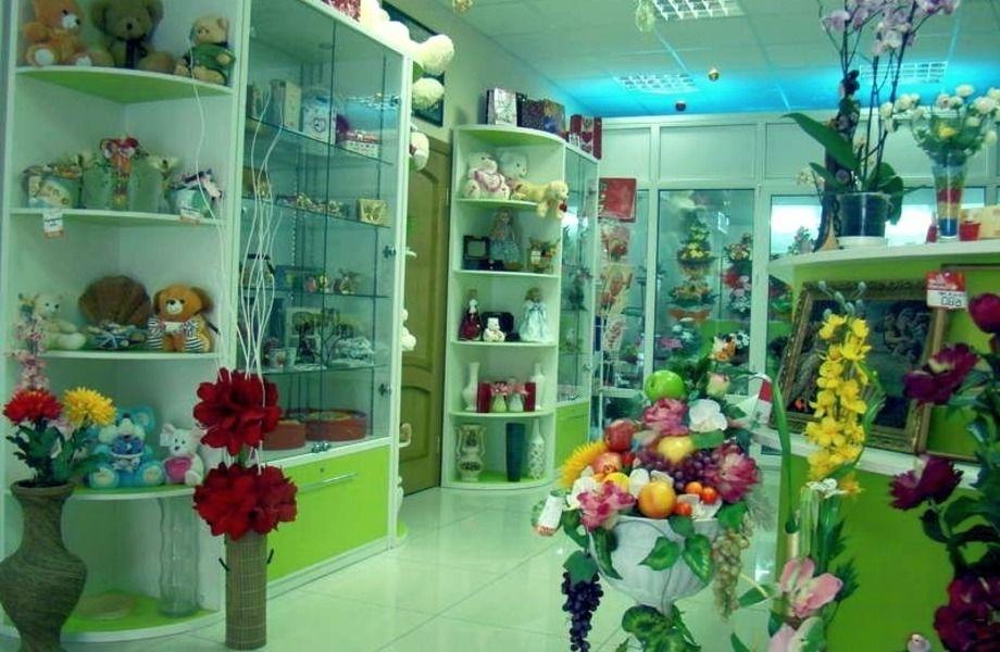 Магазин цветов с товарным остатком / У метро