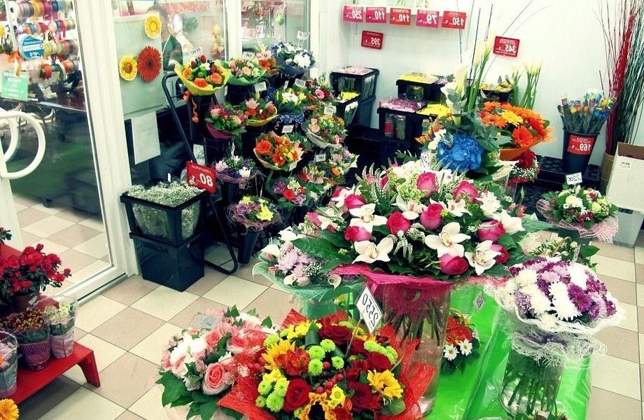Цветочный магазин с многолетней историей