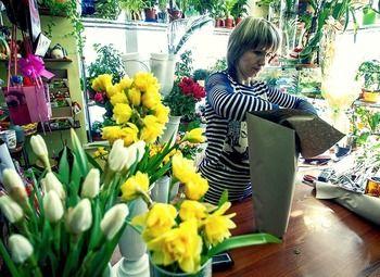 Цветочный магазин в пешей доступности от метро/доход 70.000р.