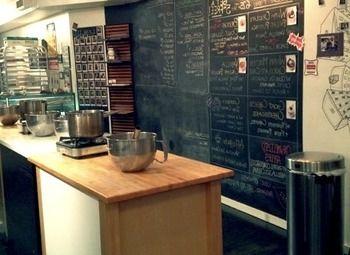 Кофейня со свежим ремонтом